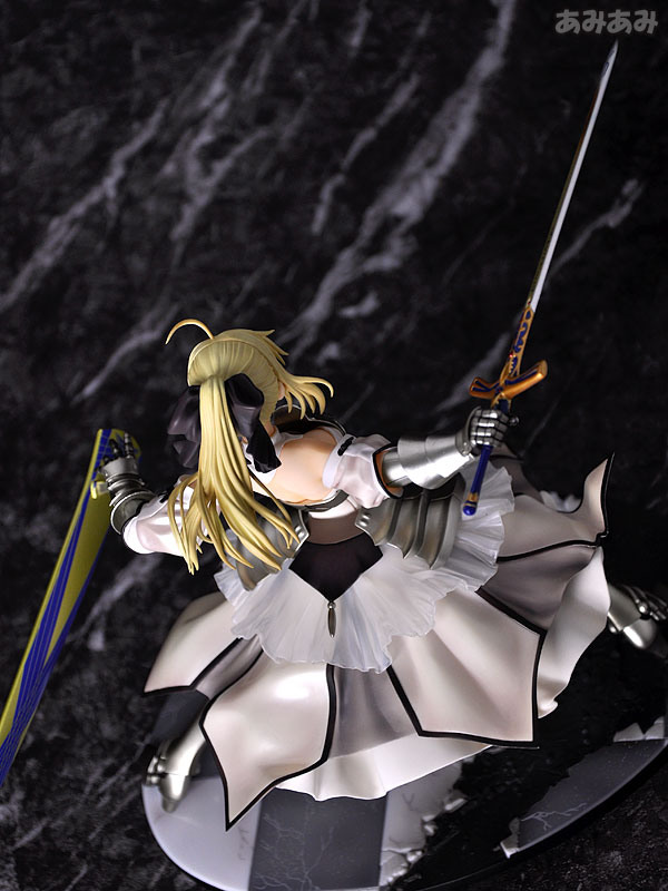 Fate_unlimited codes Saber Lily The Everdistant Utopia Avalon Anime Figure 0007