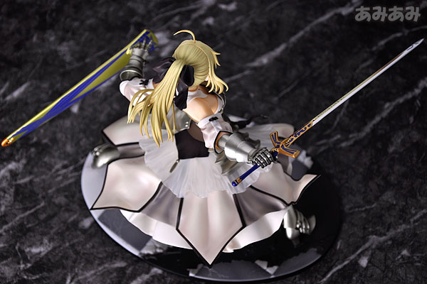 Fate_unlimited codes Saber Lily The Everdistant Utopia Avalon Anime Figure 0008