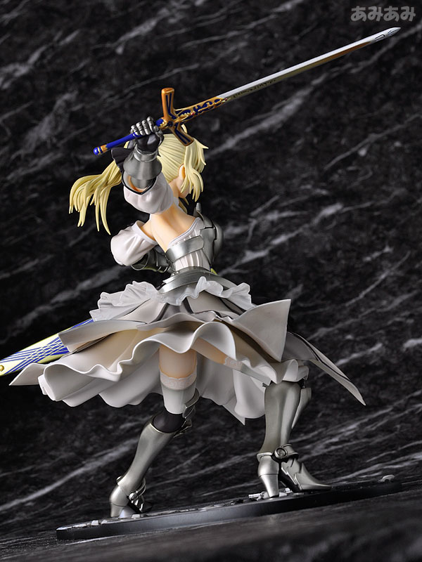 Fate_unlimited codes Saber Lily The Everdistant Utopia Avalon Anime Figure 0009