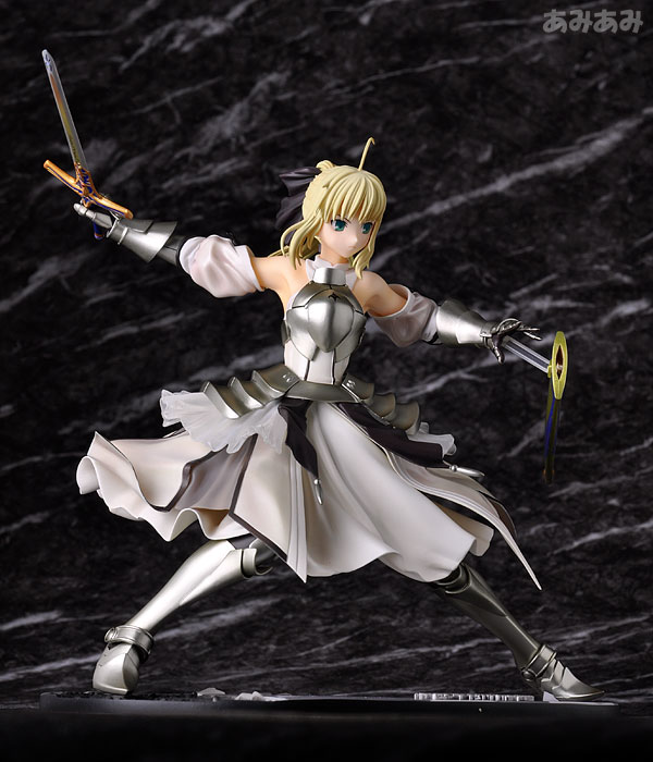 Fate_unlimited codes Saber Lily The Everdistant Utopia Avalon Anime Figure 0010