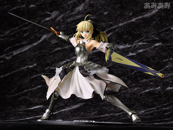 Fate_unlimited codes Saber Lily The Everdistant Utopia Avalon Anime Figure 0011