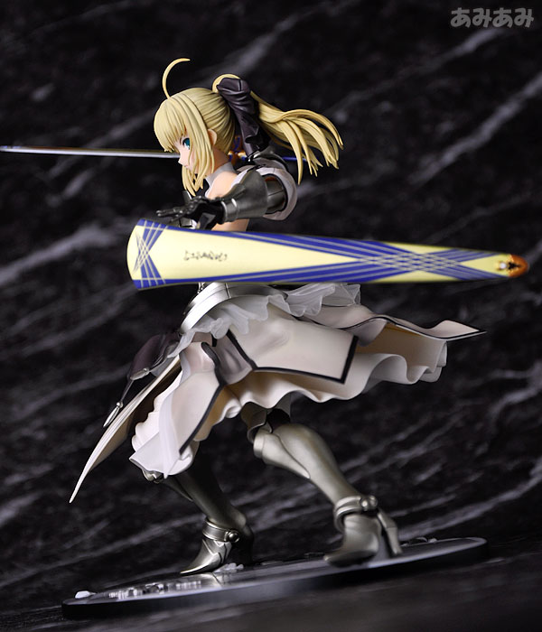 Fate_unlimited codes Saber Lily The Everdistant Utopia Avalon Anime Figure 0012