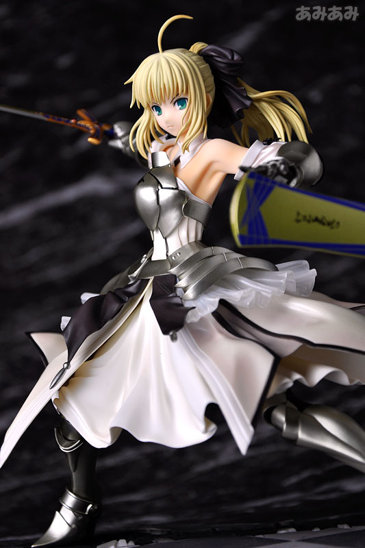 Fate_unlimited codes Saber Lily The Everdistant Utopia Avalon Anime Figure 0013
