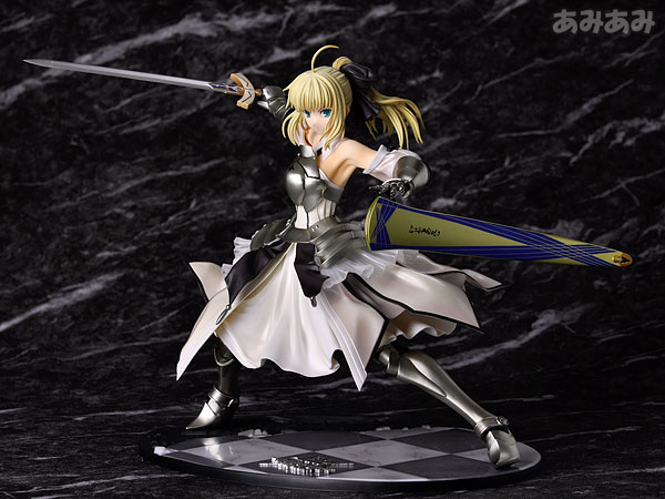 Fate_unlimited codes Saber Lily The Everdistant Utopia Avalon Anime Figure 0017