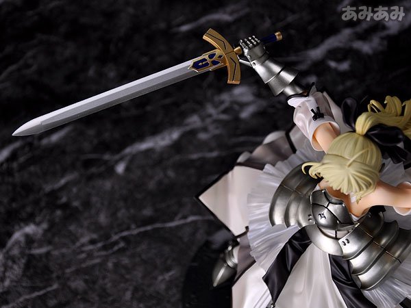 Fate_unlimited codes Saber Lily The Everdistant Utopia Avalon Anime Figure 0018