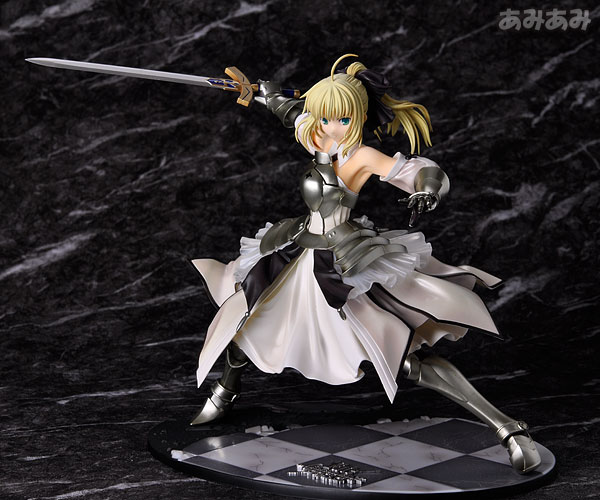 Fate_unlimited codes Saber Lily The Everdistant Utopia Avalon Anime Figure 0019