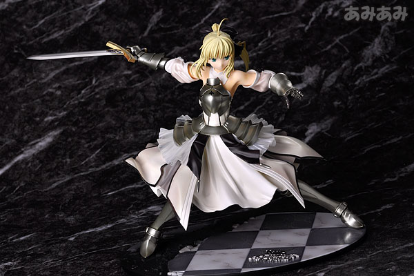 Fate_unlimited codes Saber Lily The Everdistant Utopia Avalon Anime Figure 0020