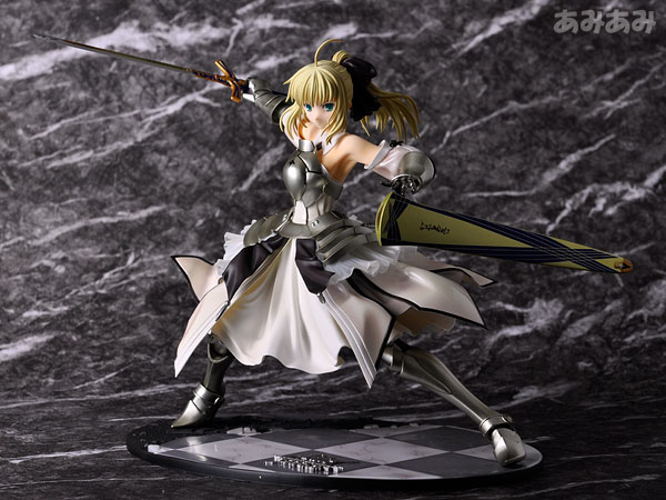 Fate_unlimited codes Saber Lily The Everdistant Utopia Avalon Anime Figure 0022