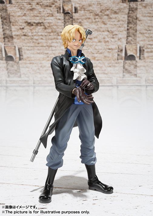 Figuarts ZERO's Sabo Figure haruhichan.com One Piece Anime Sabo figure 01