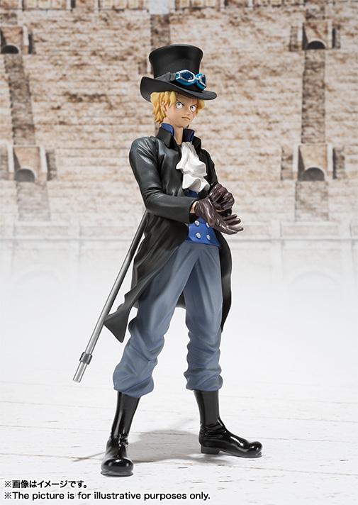 Figuarts ZERO's Sabo Figure haruhichan.com One Piece Anime Sabo figure 02