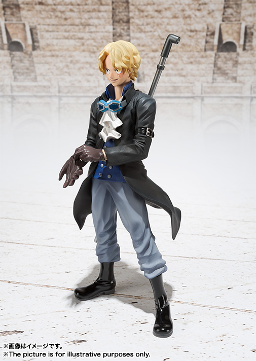 Figuarts ZERO's Sabo Figure haruhichan.com One Piece Anime Sabo figure 03