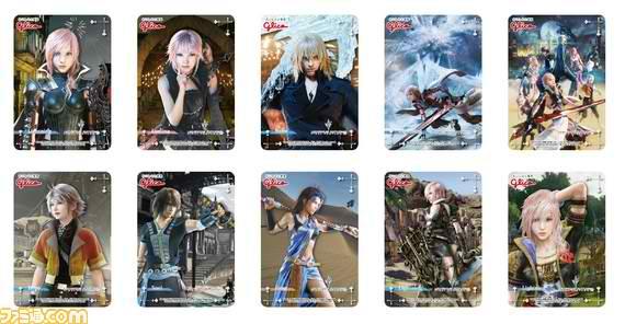 Final Fantasy XIII Lightning Returns cards