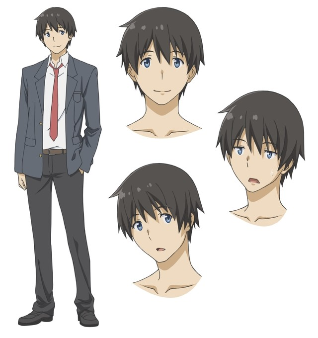 Flying Witch TV Anime character design 4