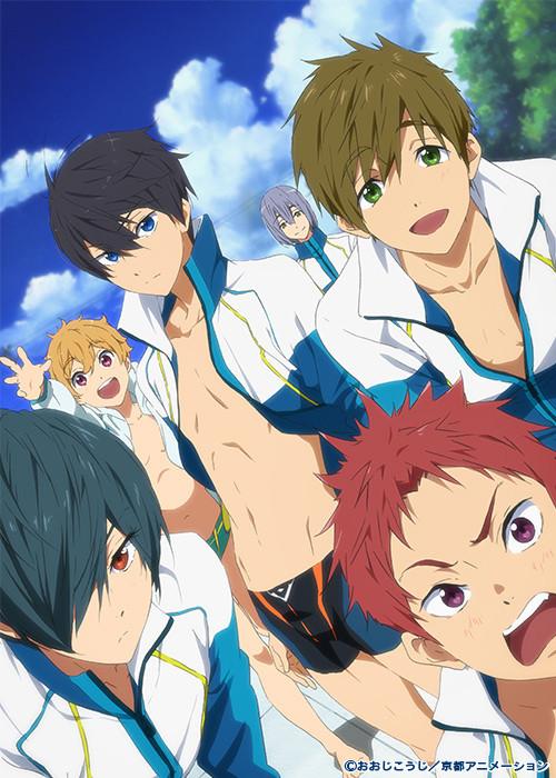 Free! 2nd season eternal summer Rin Matsuoka Nagisa Hazuki Haruka Haru Nanase Rei Ryuugazaki Makoto Mako-chan Tachibana