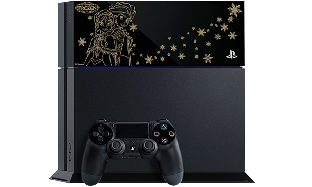 Frozen Themed PlayStation 4 Console