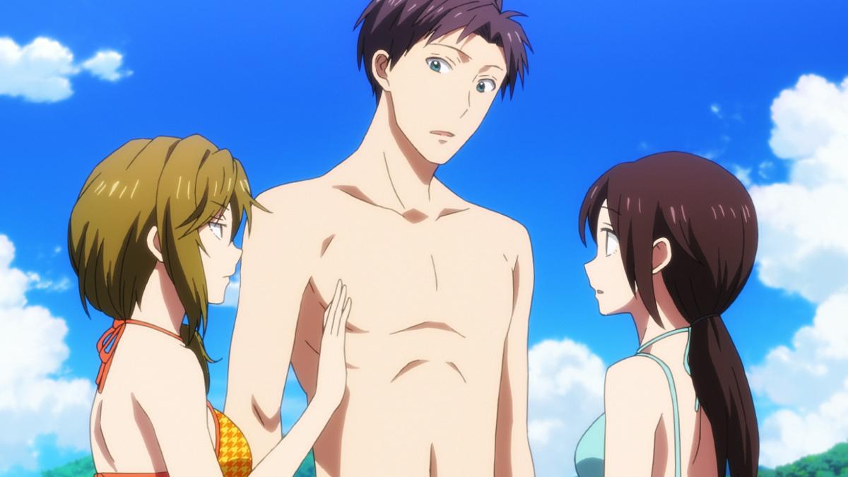 Gekkan Shoujo Nozaki-kun Beach Episode Previewed Haruhichan.com Gekkan Shoujo Nozaki-kun special beach episode 15