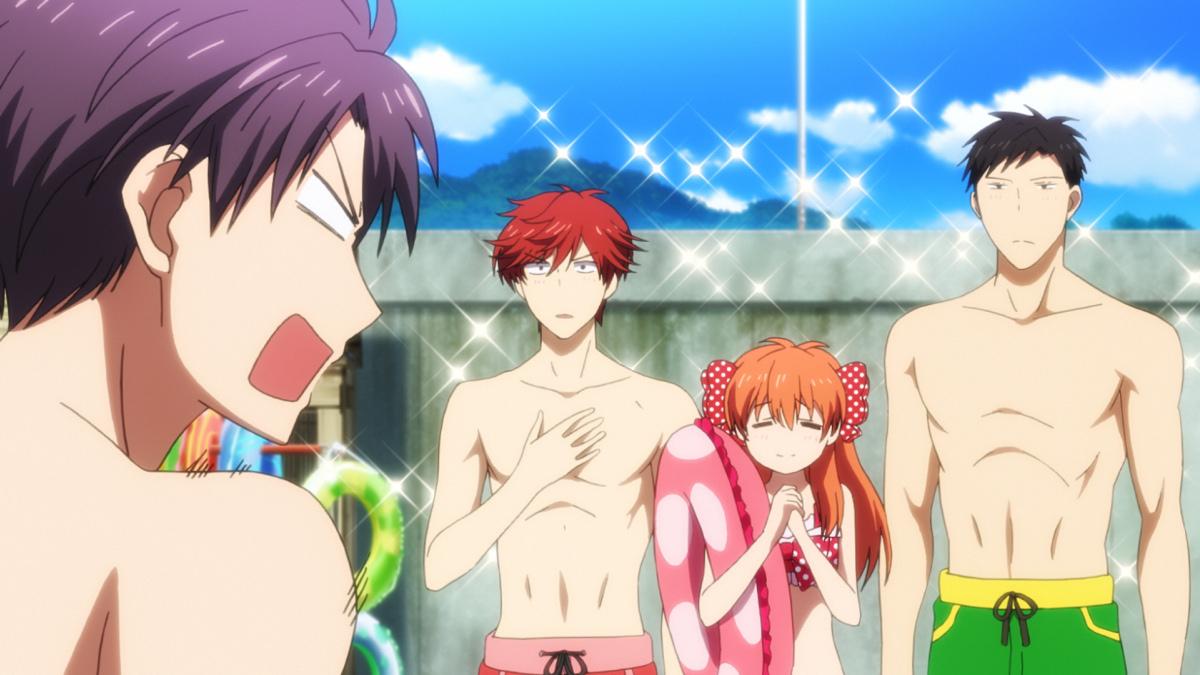 Gekkan Shoujo Nozaki-kun Beach Episode Previewed Haruhichan.com Gekkan Shoujo Nozaki-kun special beach episode 18