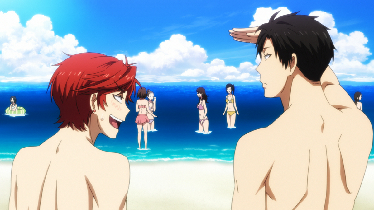 Gekkan Shoujo Nozaki-kun Beach Special and Comiket 87 Goods Previewed haruhichan.com Monthly Girls Nozaki-kun beach special 3