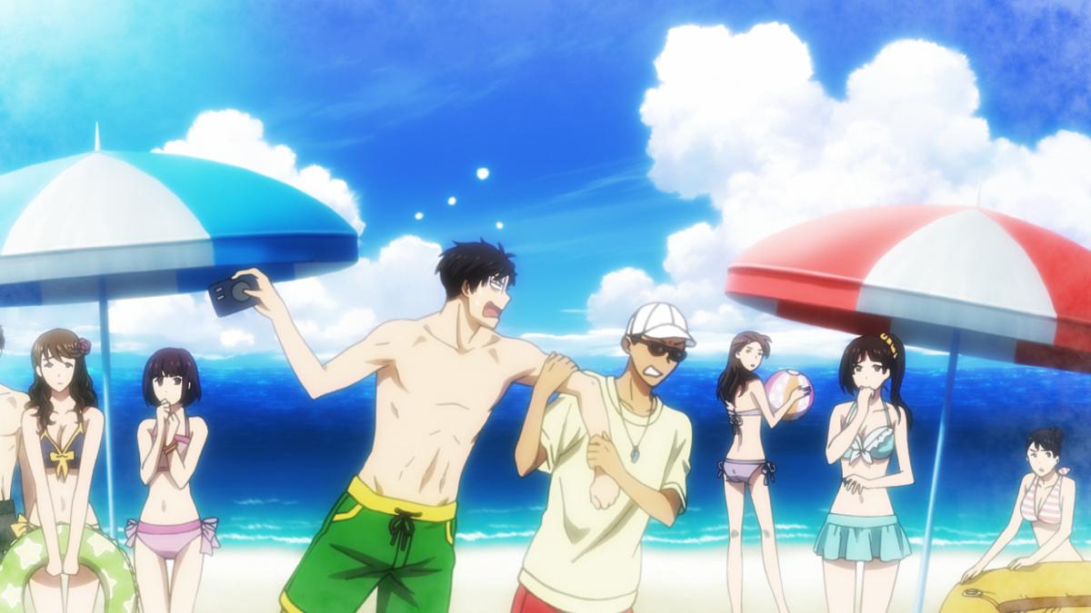 Gekkan Shoujo Nozaki-kun Beach Special and Comiket 87 Goods Previewed haruhichan.com Monthly Girls Nozaki-kun beach special 4
