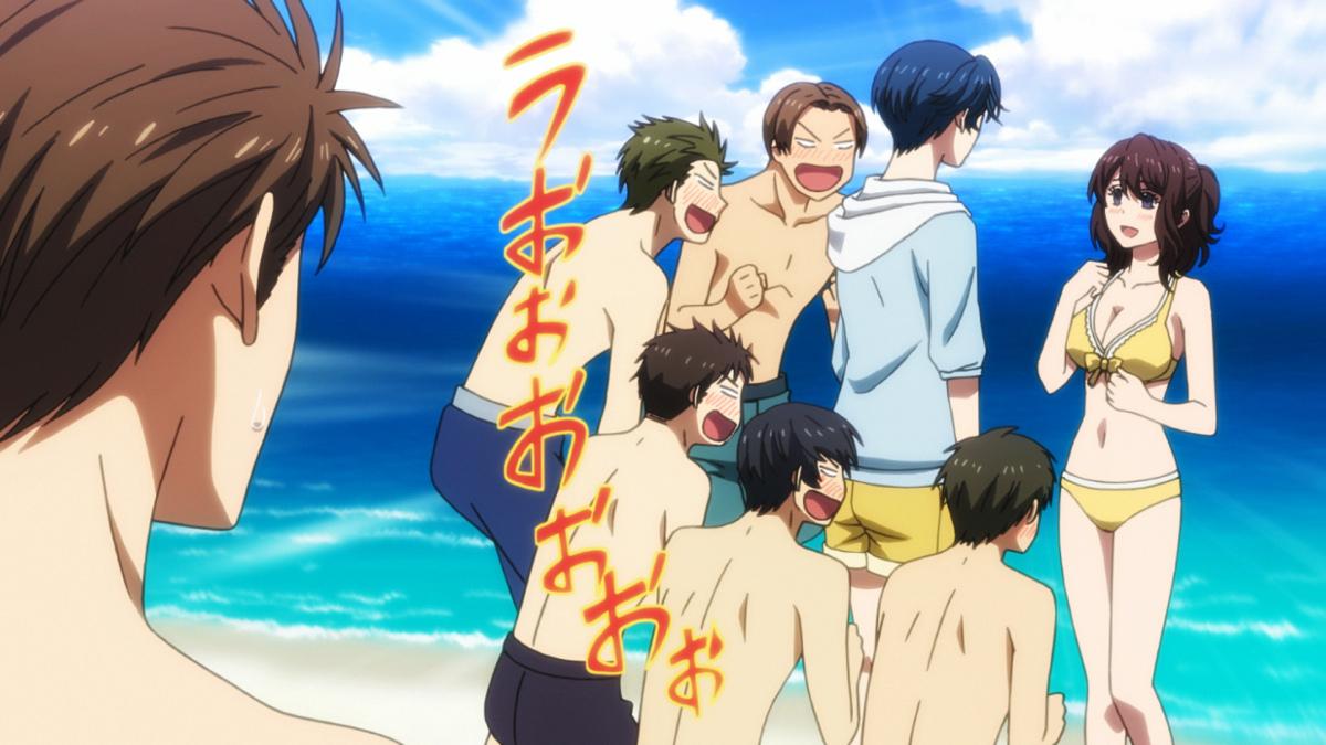 Gekkan Shoujo Nozaki-kun Beach Special and Comiket 87 Goods Previewed haruhichan.com Monthly Girls Nozaki-kun beach special 5