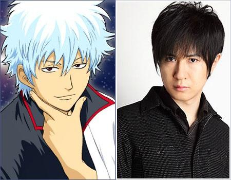 Gintoki Yorozuya, Mr. Odd Jobs, Shiroyasha, Gin-chan Sakata Sugita, Tomokazu Gintama voice actor
