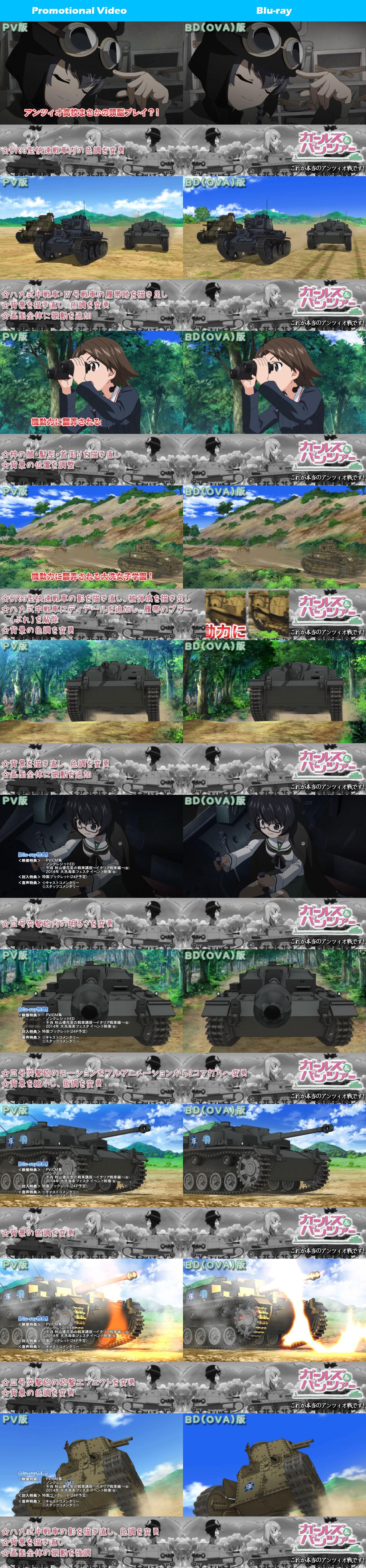 Girls-Und-Panzer-Kore-Ga-Hontou-No-Anzio-Sen-Desu-TV-and-Blu-ray-Comparison-4_Haruhichan.com