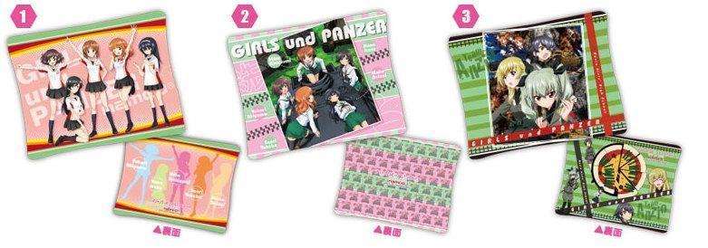 Girls und Panzer Chara Hobby 2014 C3 X Hobby booth A Prize Cushions haruhichan.com GuP ガールズ&パンツァー