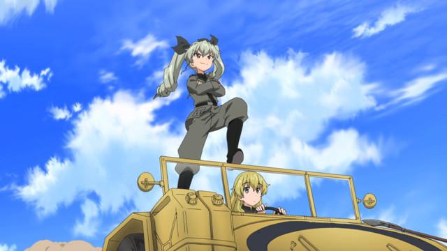 Girls und Panzer Kore ga Hontou no Anzio-sen Desu! Anchovy  Carpaccio
