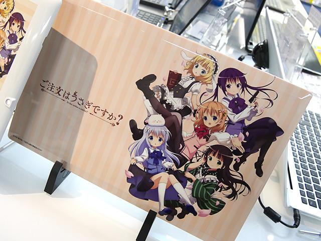 Gochuumon Wa Usagi Desu Ka Themed Laptops and Tablets Go on Sale haruhichan.com Is the order a rabbit themed laptops and tablets anime 4