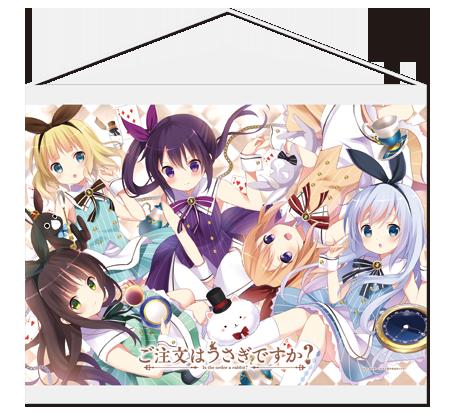 Gochuumon wa Usagi Desu ka Is the order a rabbit anime Mini-tapestries