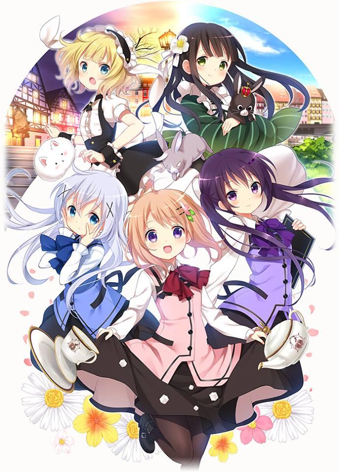 Gochuumon wa Usagi Desu ka anime