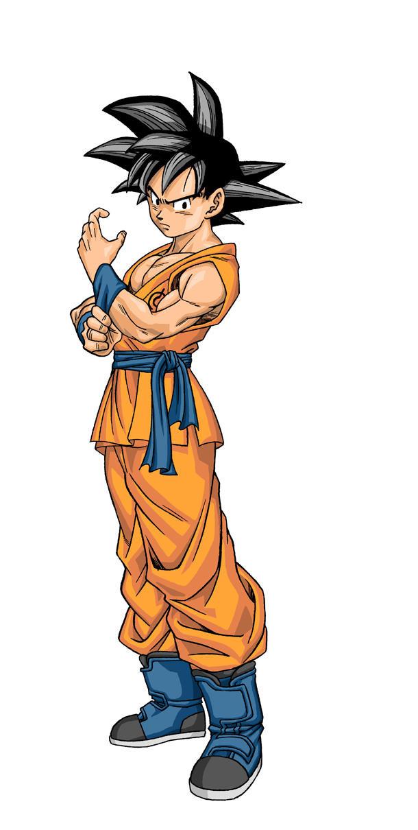 Goku's New Design for Dragon Ball Super Manga Previewed