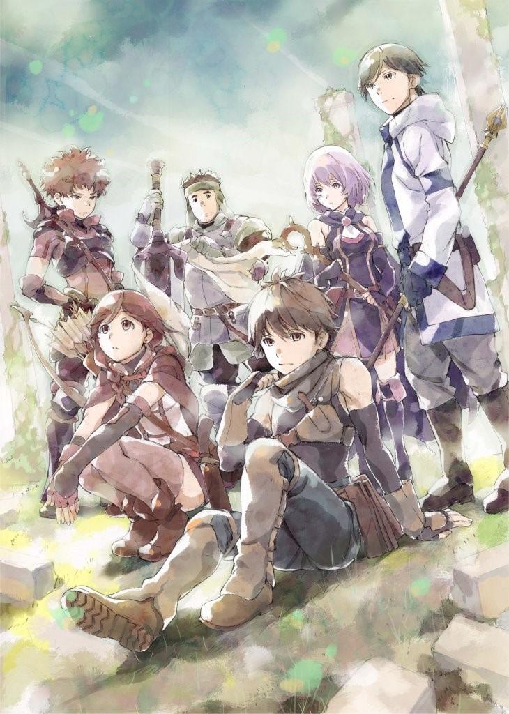 Hai to Gensou no Grimgar anime visual