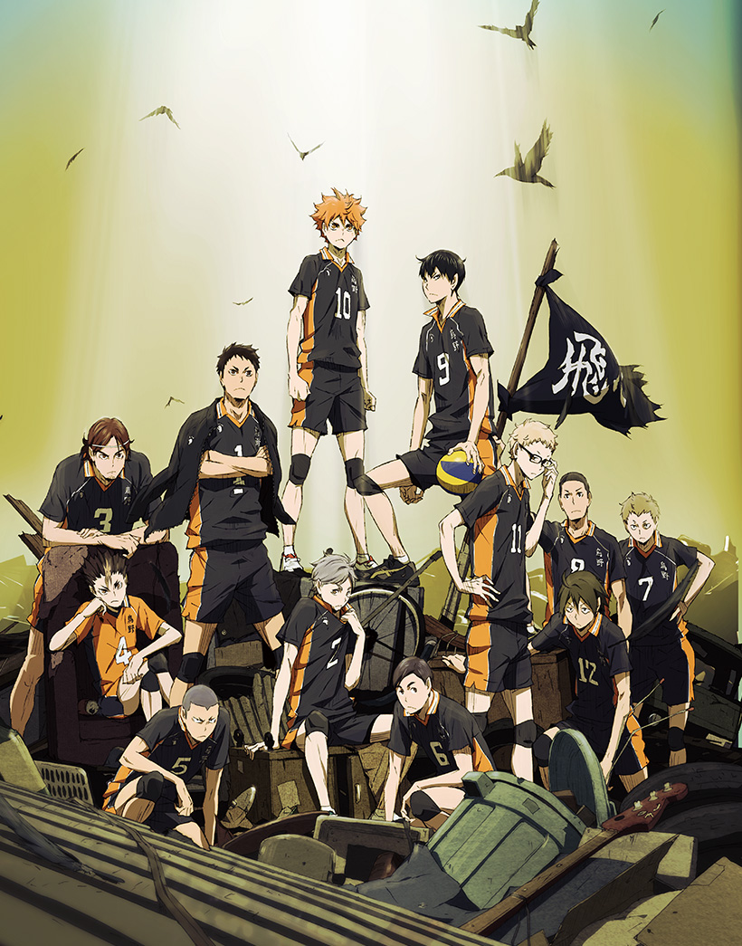 Haikyuu!! Second Season 2nd-cour anime key visual