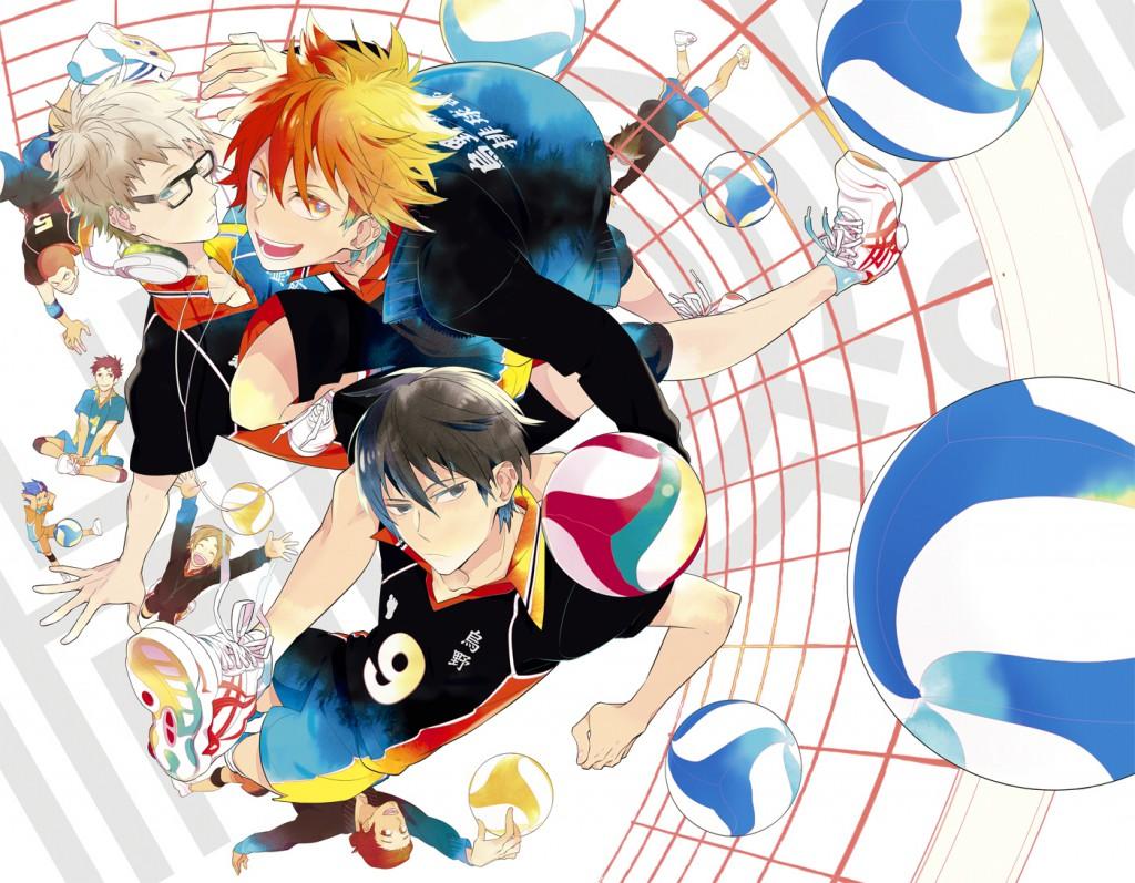 Haikyuu!! anime series