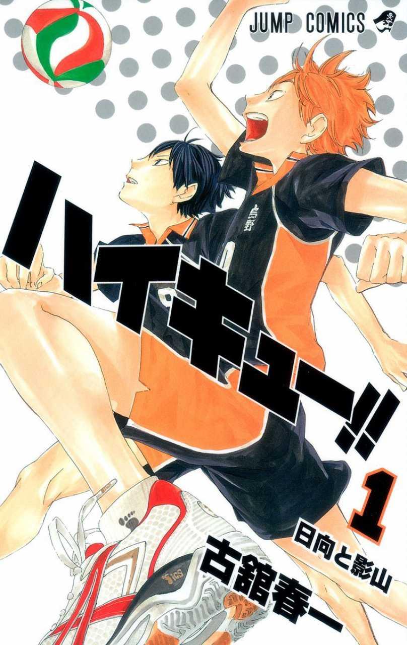 Haikyuu!! manga cover volume 1