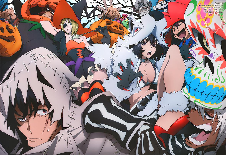Halloween Themed Kekkai Sensen Visual Revealed
