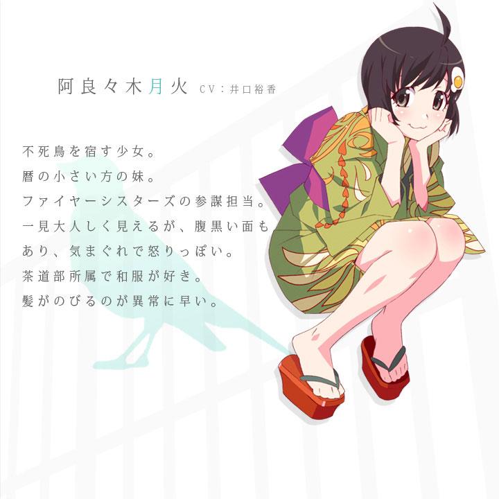 Hanamonogatari-Character-Tsukihi Araragi