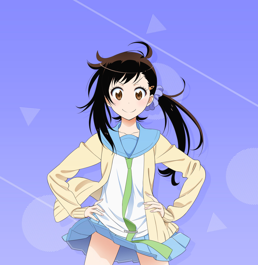 Haru Onodera from Nisekoi Second Season Character Visual haruhichan.com nisekoi 2
