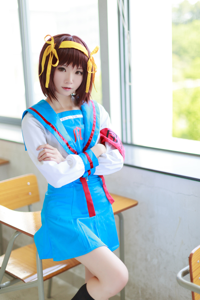 Haruhi Make You Join the Sos Brigade in Fantastic Cosplay 1