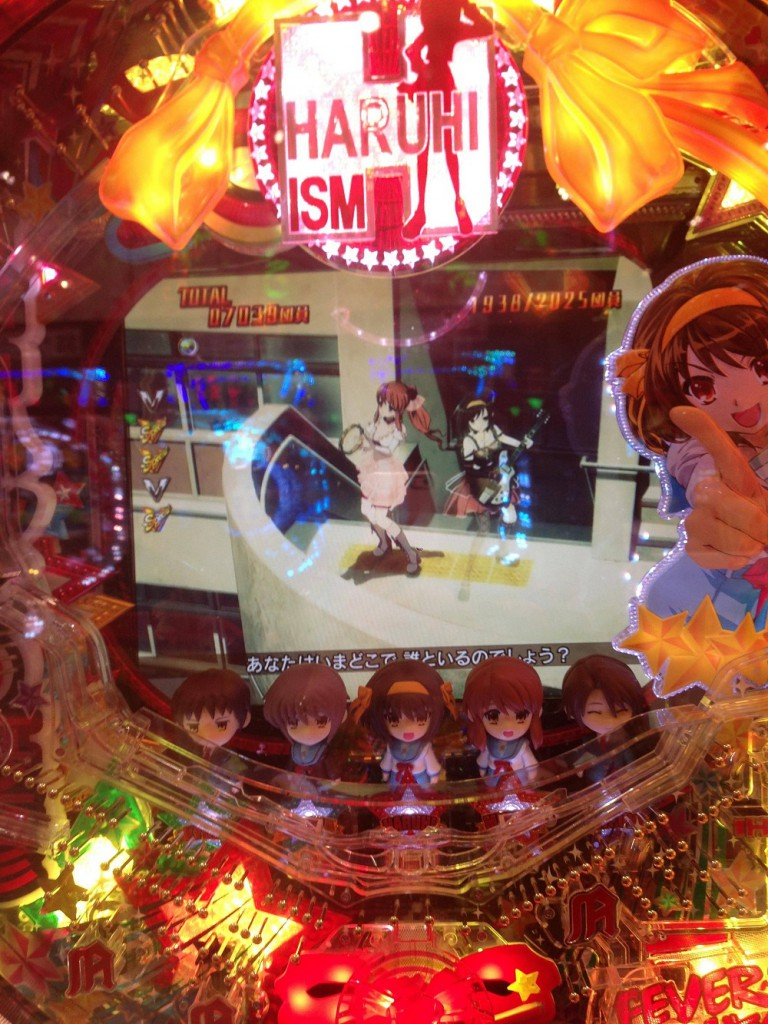 Haruhi-Pachinko-Machine-Gameplay
