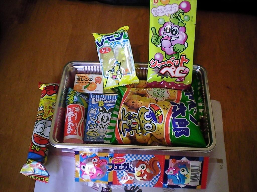 Haruhichan.com Jlist.com Dagashi Bento Pack 2