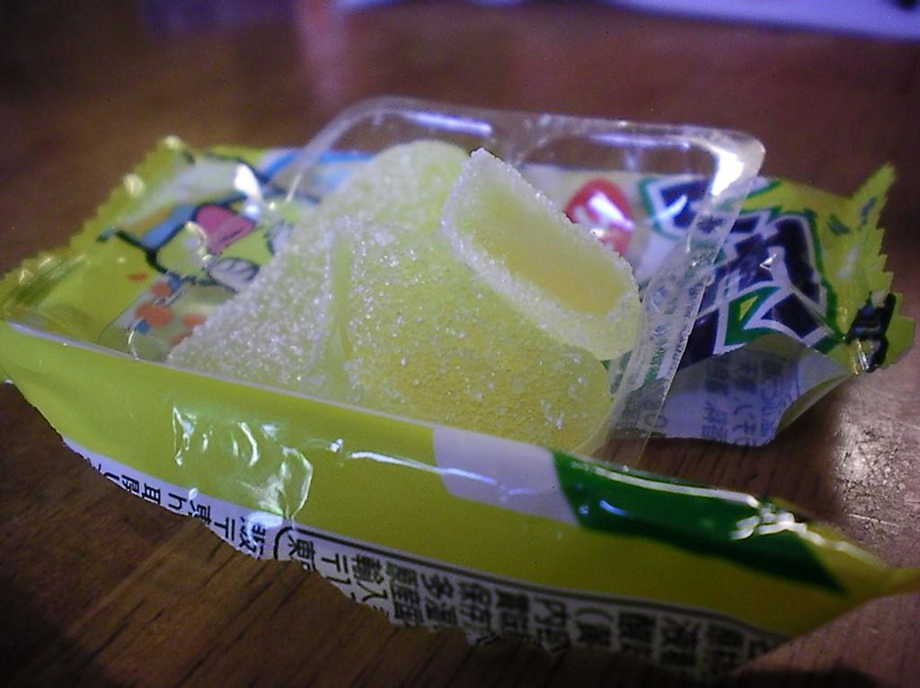 Haruhichan.com Jlist.com Dagashi Bento Pack Lemon Gummy candy 2