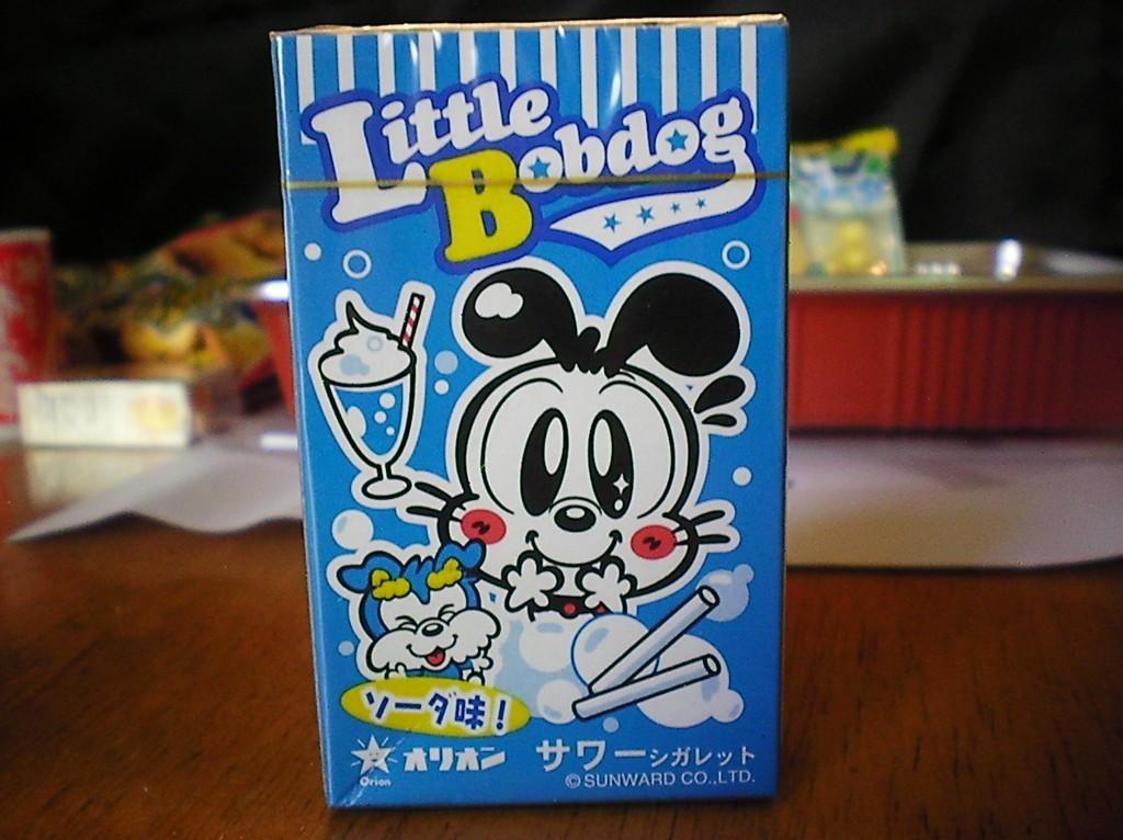 Haruhichan.com Jlist.com Dagashi Bento Pack Ramune Fake Cigarettes