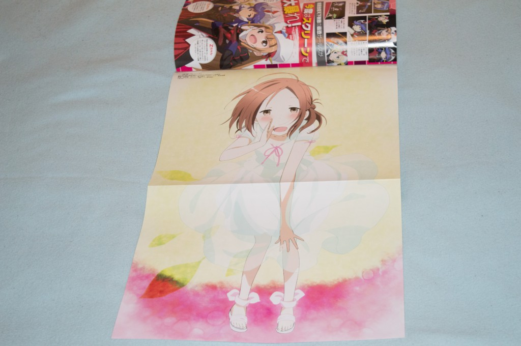 Haruhichan.com Megami MAGAZINE July 2014 posters dress fujimiya_kaori isshuukan_friends takano_aya 2