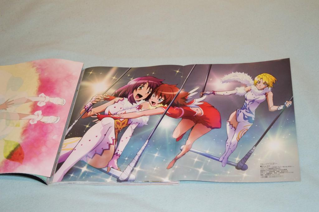 Haruhichan.com Megami MAGAZINE July 2014 posters kaleido_star layla_hamilton naegino_sora oizaki_fumitoshi rosetta_passel watanabe_hajime 2