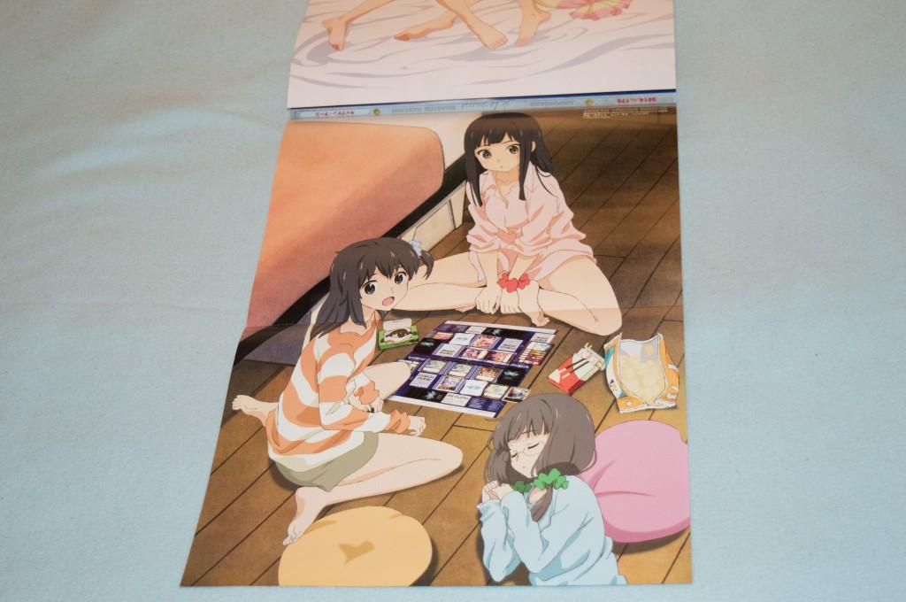 Haruhichan.com Megami MAGAZINE July 2014 posters kominato_ruuko kurebayashi_yuzuki megane sakai_kyuuta selector_infected_wixoss uemura_hitoe 2