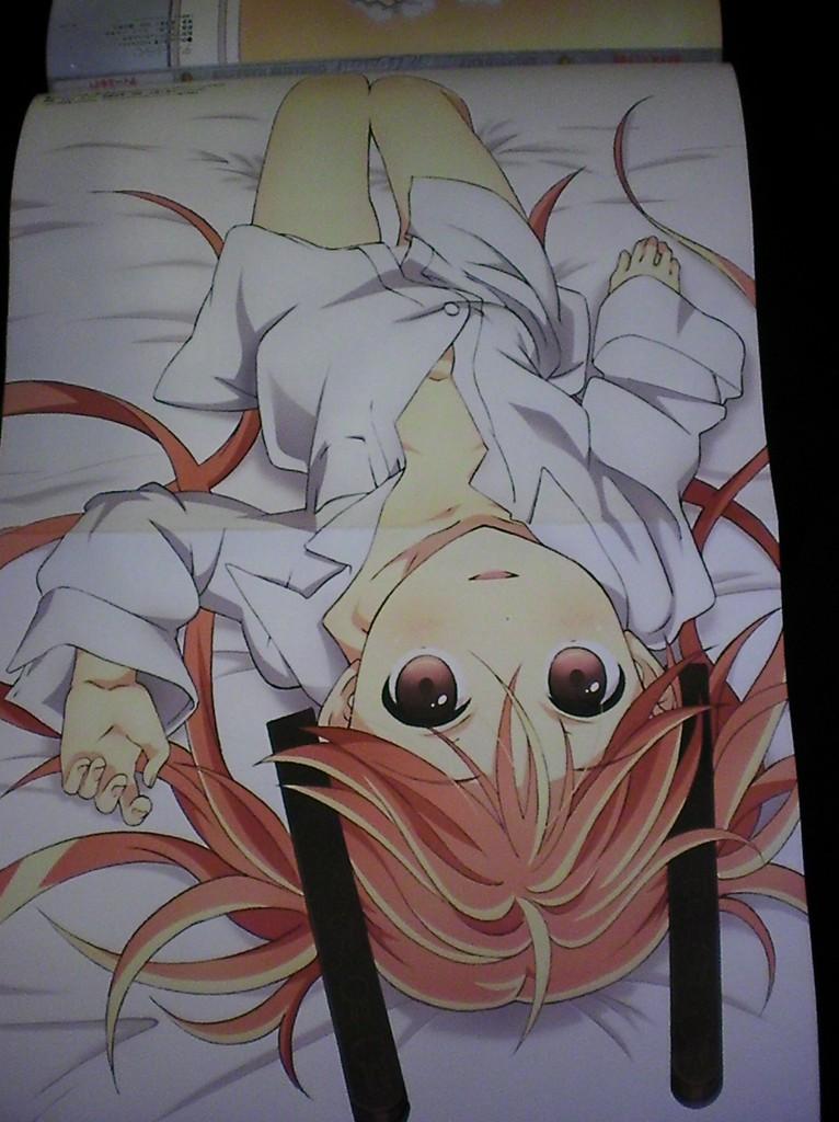 Haruhichan.com Megami MAGAZINE May 2014 posters black bullet aihara enju