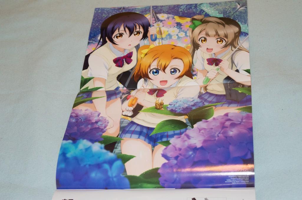 Haruhichan.com Newtype June 2014 posters Love Live 2nd season