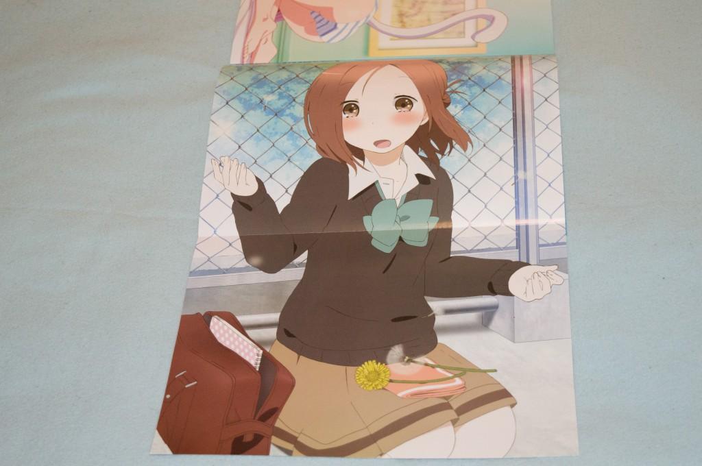 Haruhichan.com NyanType July 2014 posters fujimiya_kaori isshuukan_friends seifuku 2